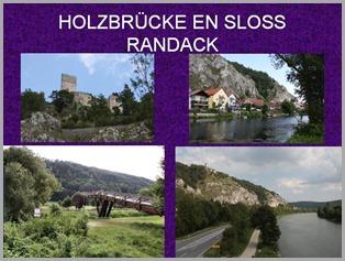 HOLZBRÜCKE EN SLOSS RANDACK